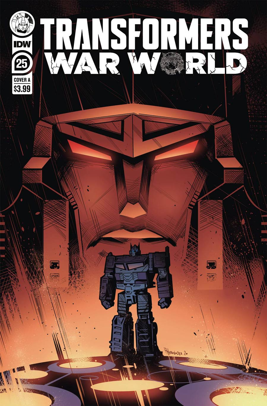Transformers Vol 4 #25 Cover A Regular Angel Hernandez Cover