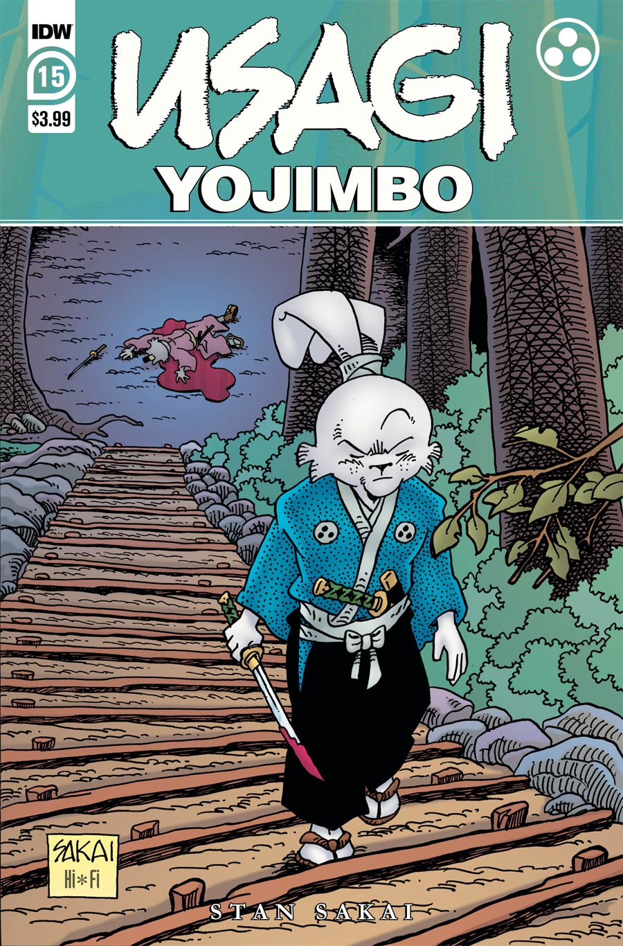 Usagi Yojimbo Vol 4 #15 Cover A Regular Stan Sakai Cover