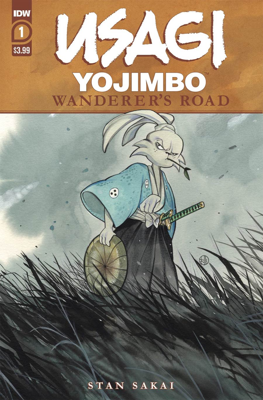 Usagi Yojimbo Wanderers Road #1