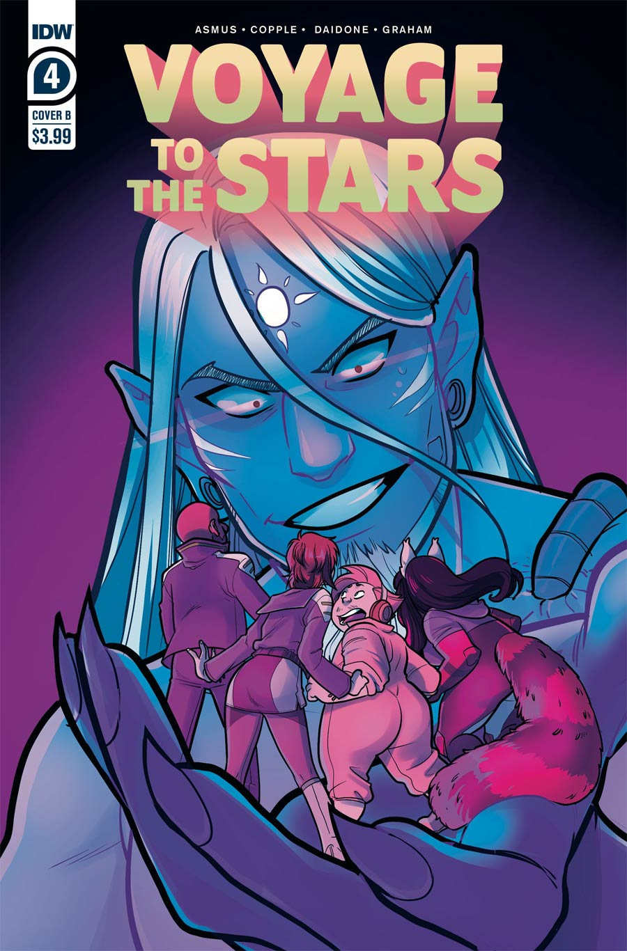 Voyage To The Stars #4 Cover B Variant Connie Daidone Cover