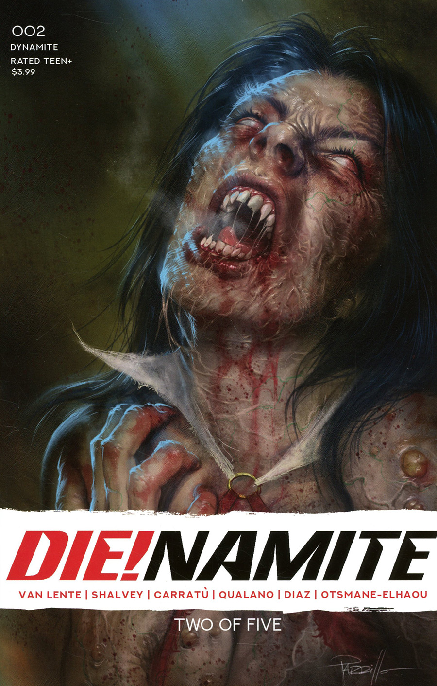 DieNamite #2 Cover A Regular Lucio Parrillo Cover