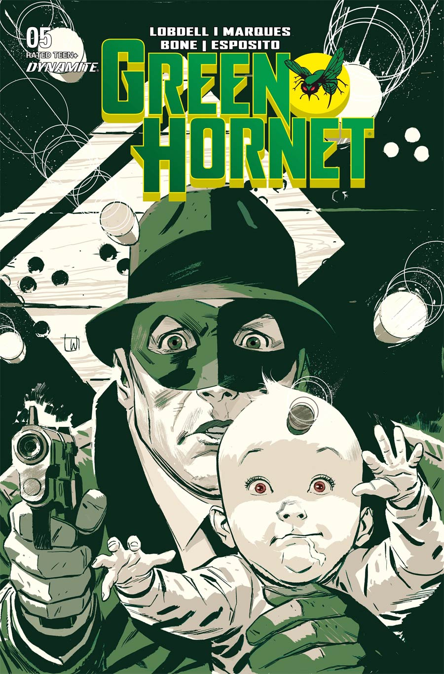 Green Hornet Vol 5 #5 Cover A Regular Lee Weeks Cover