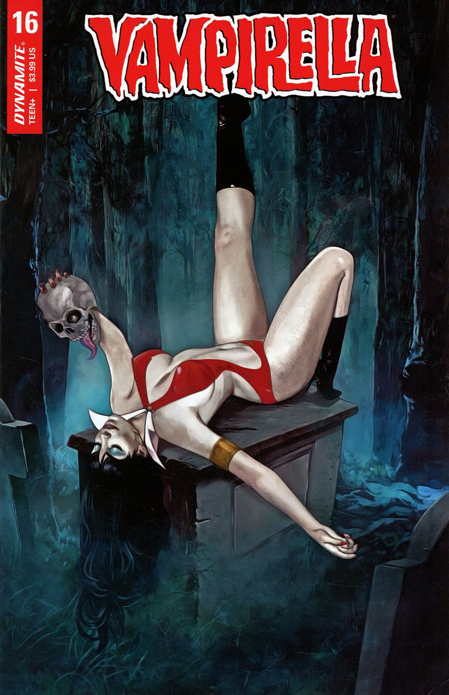 Vampirella Vol 8 #16 Cover C Variant Fay Dalton Cover