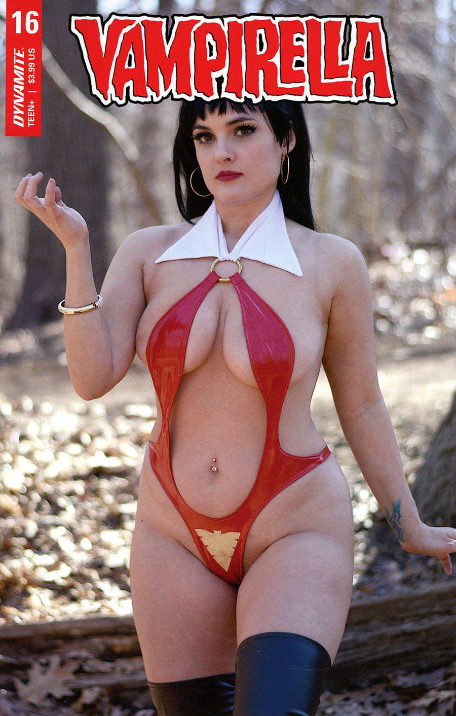 Vampirella Vol 8 #16 Cover E Variant Holly Ophelia Cosplay Photo Cover