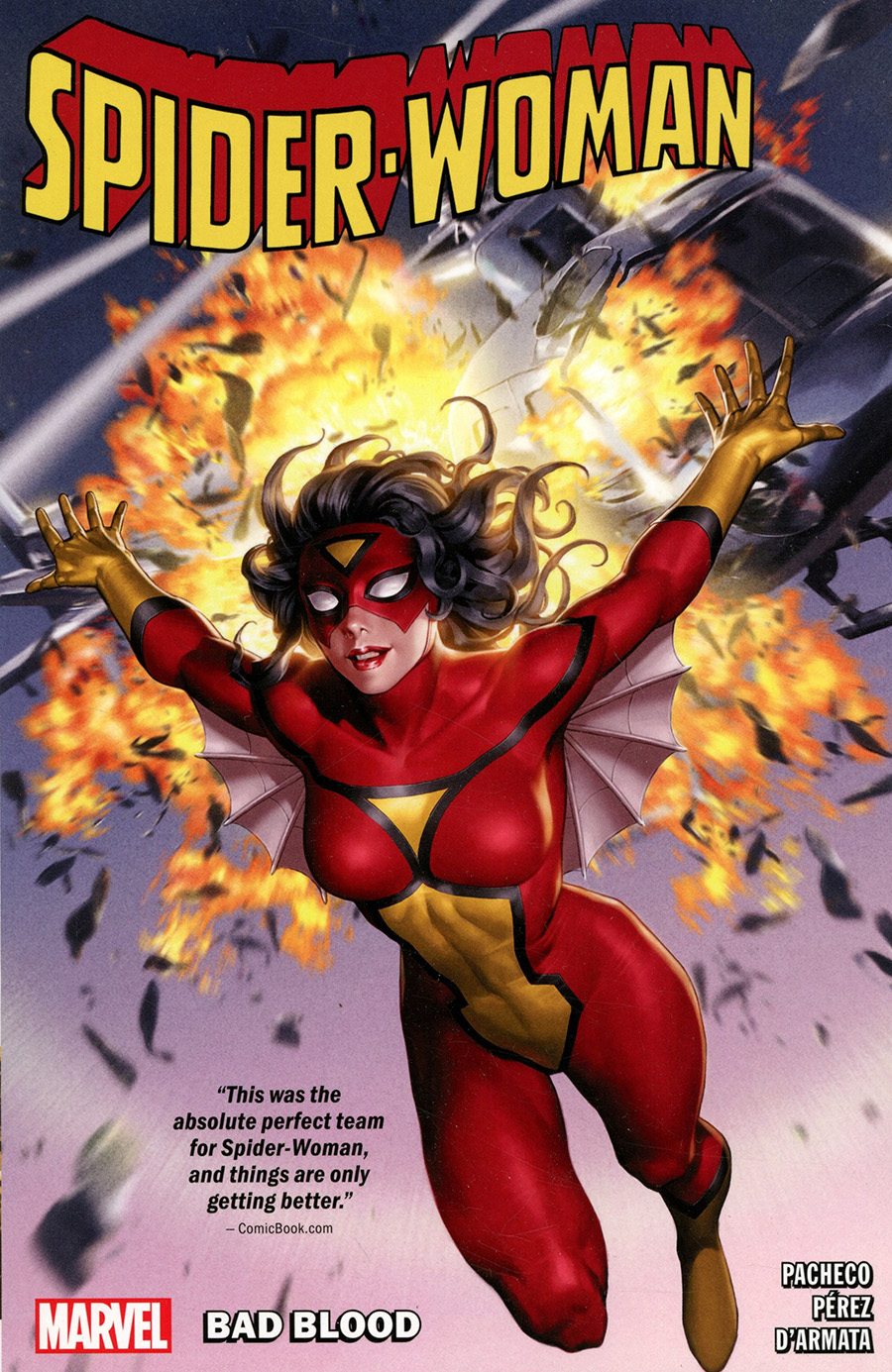 Spider-Woman (2020) Vol 1 Bad Blood TP
