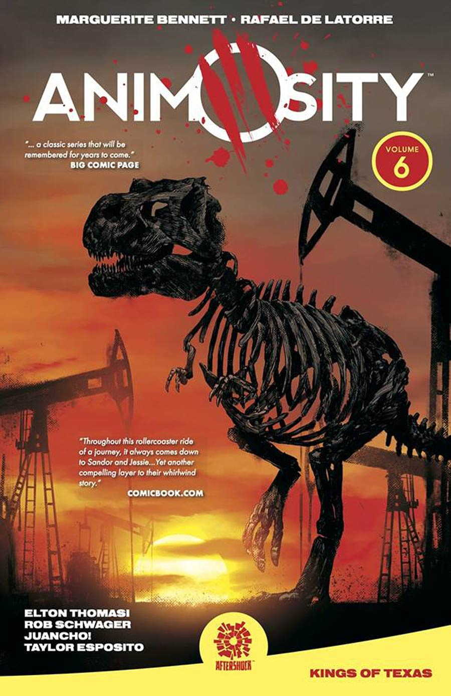 Animosity Vol 6 The King Of Texas TP