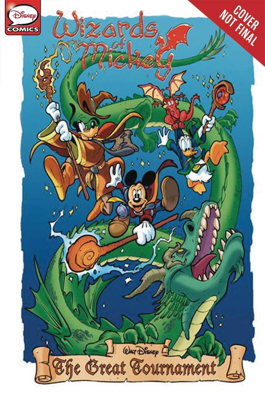 Disney Wizards Of Mickey Origins Vol 1 GN