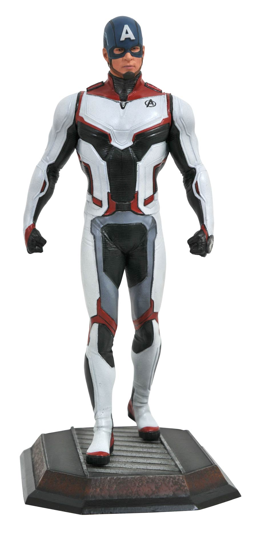 Marvel Movie Gallery Avengers Endgame Team Suit Captain America PVC Statue