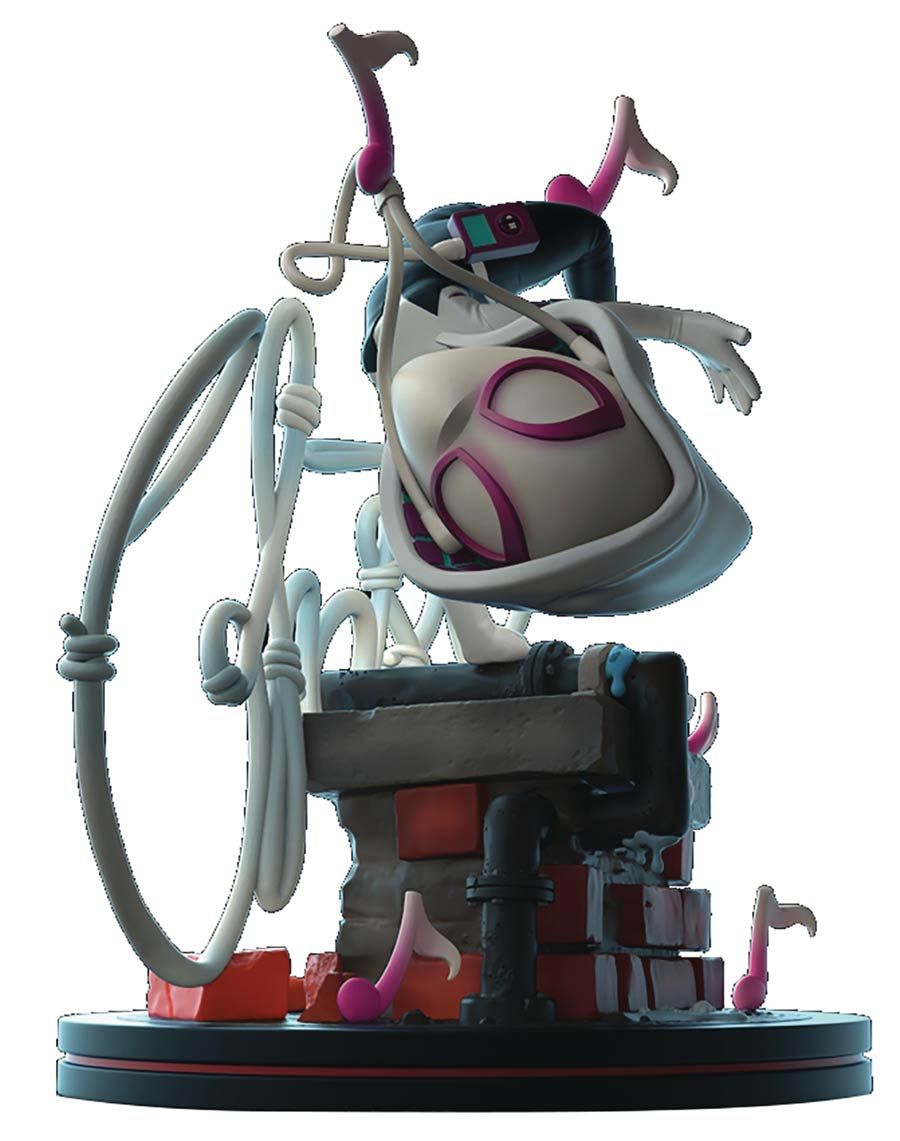 Marvel Heroes Ghost-Spider Q-Fig Elite Diorama Figure