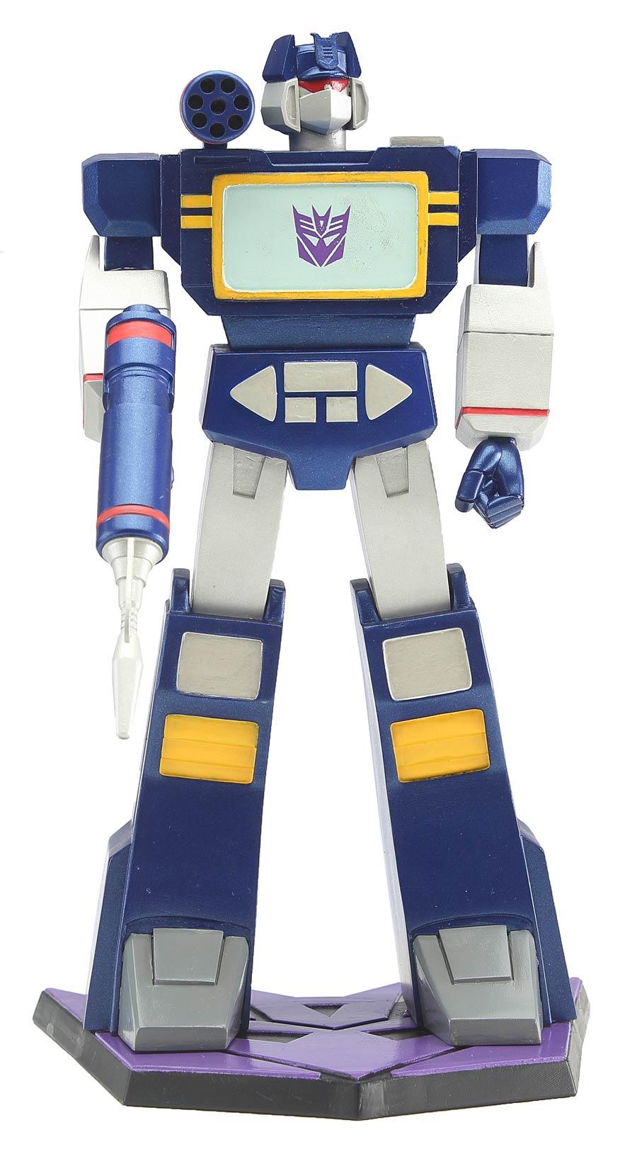 Transformers 9-Inch PVC Statue - Soundwave