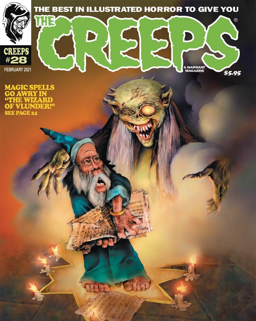Creeps Magazine #28