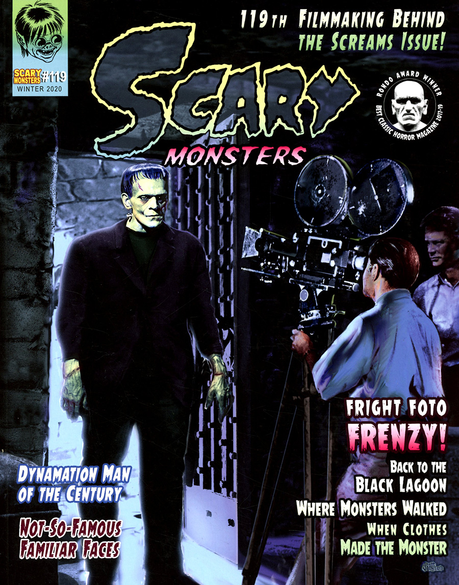 Scary Monsters Magazine #119 Winter 2020