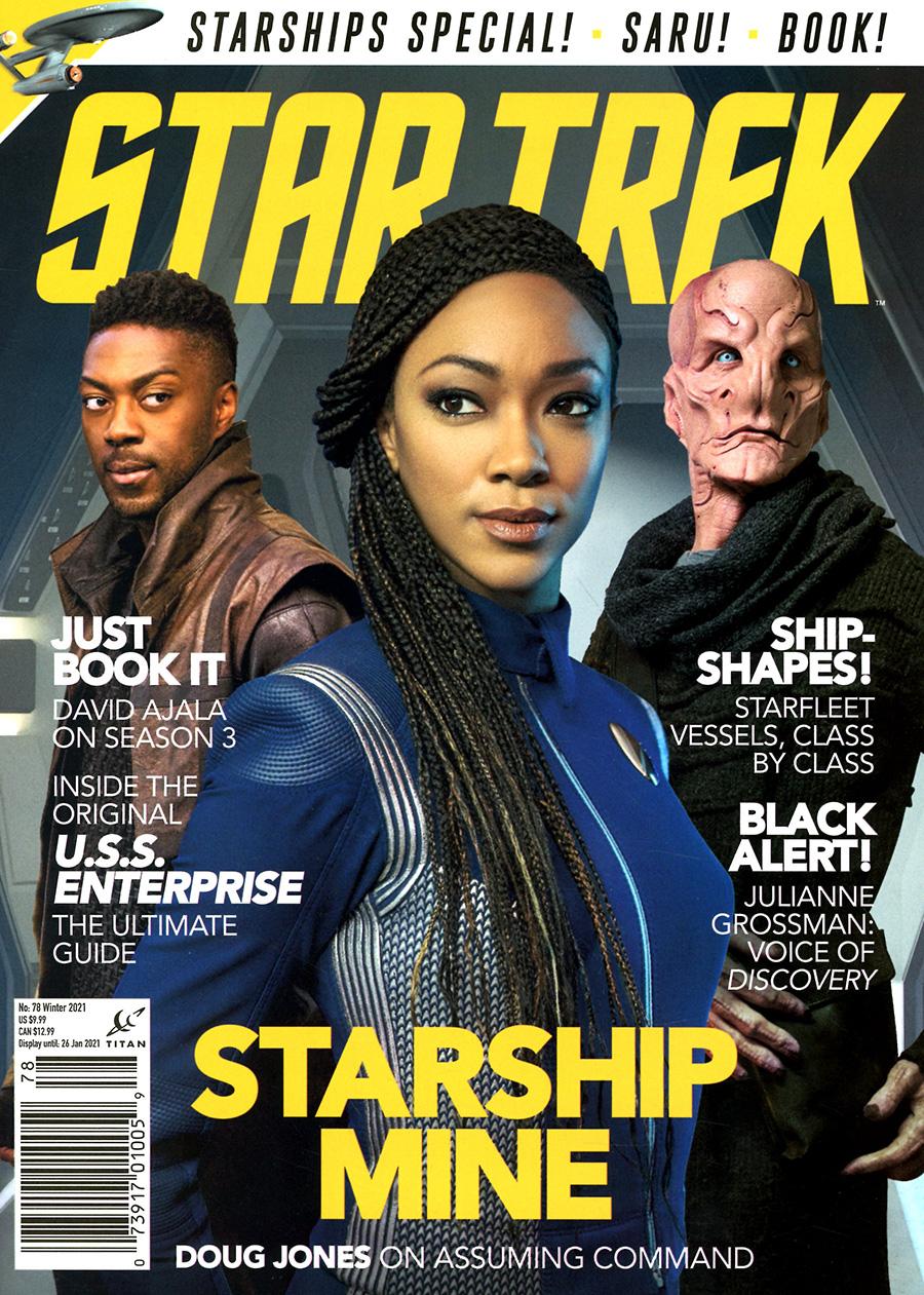 Star Trek Magazine #78 Winter 2021 Newsstand Edition