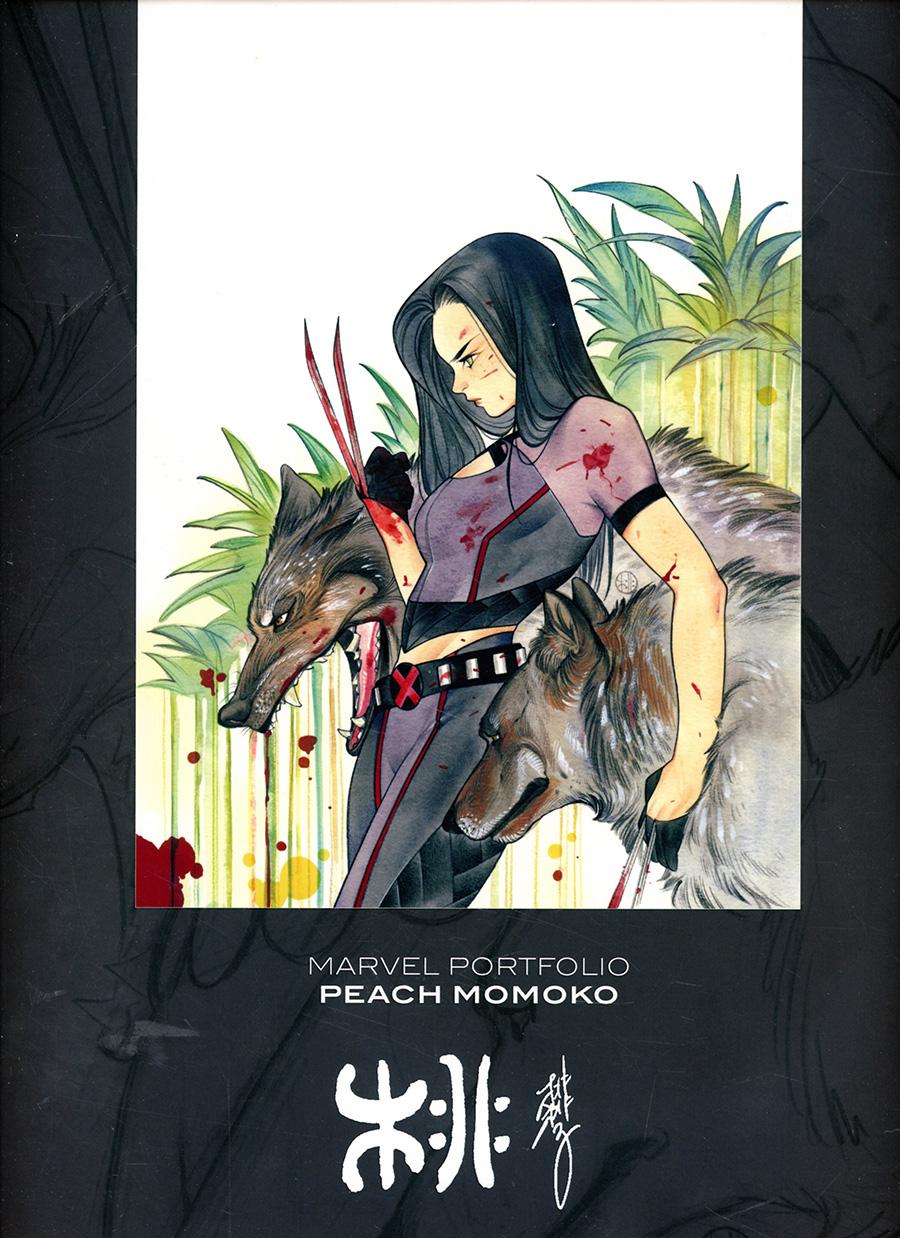 Marvel Portfolio Peach Momoko HC