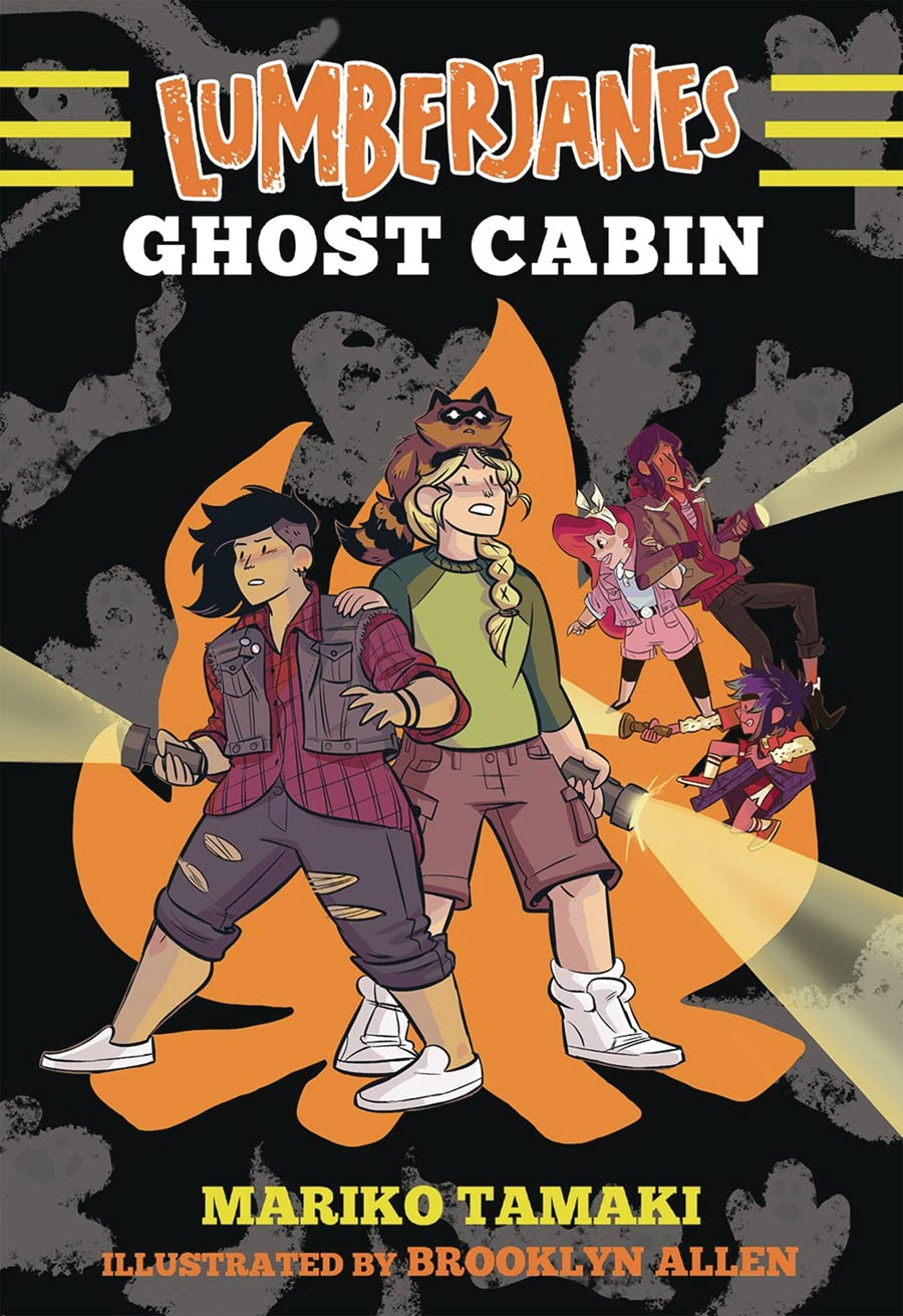 Lumberjanes Illustrated Novel Vol 4 Ghost Cabin TP