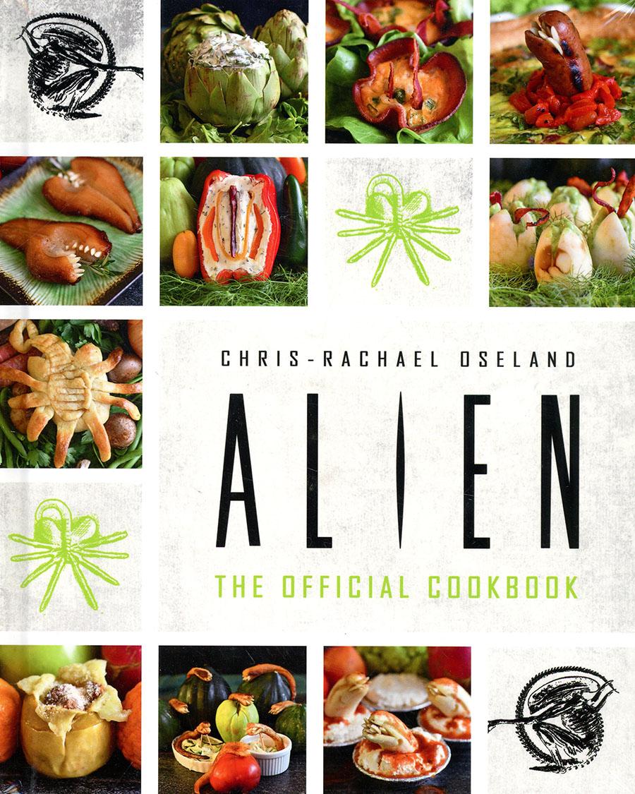 Alien Official Cookbook HC
