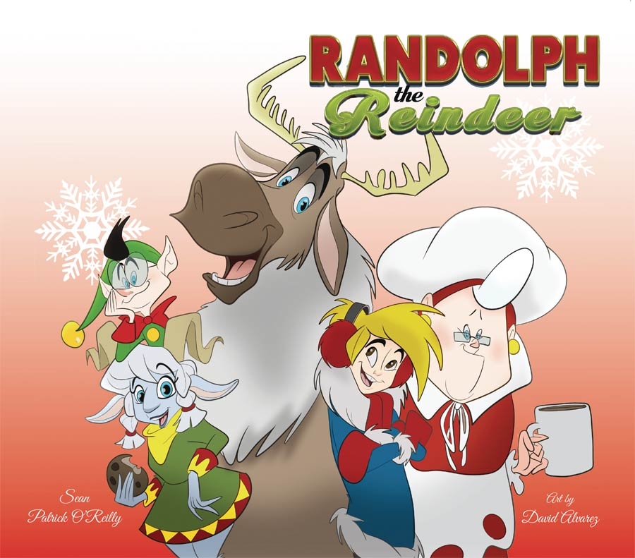 Randolph The Reindeer HC