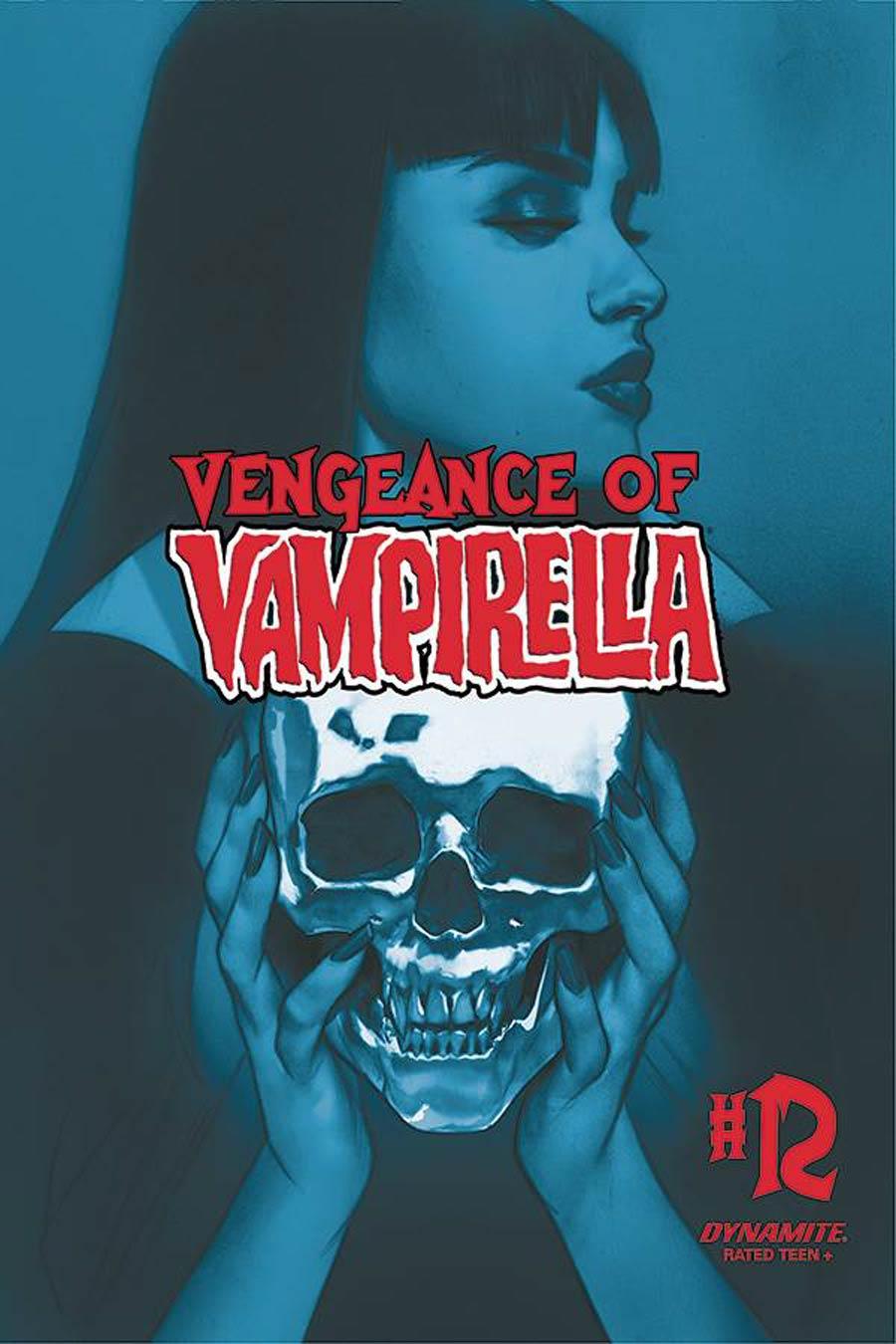 Vengeance Of Vampirella Vol 2 #12 Cover O Incentive Ben Oliver Tint Cover