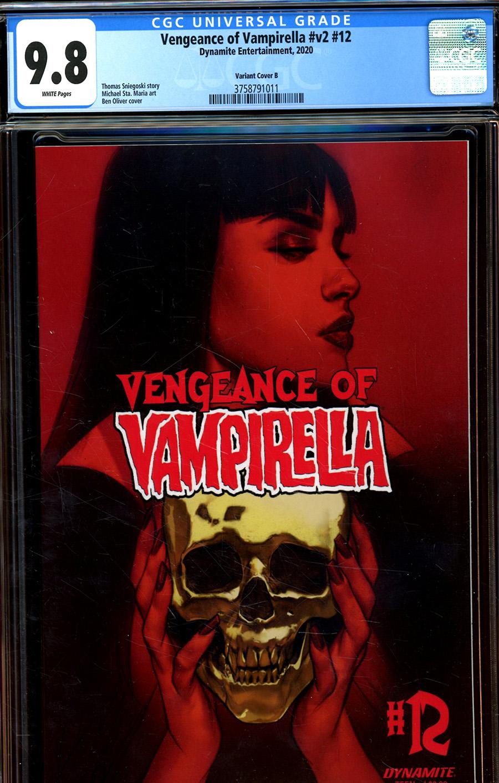 Vengeance Of Vampirella Vol 2 #12 Cover S Variant Ben Oliver Cover CGC Graded