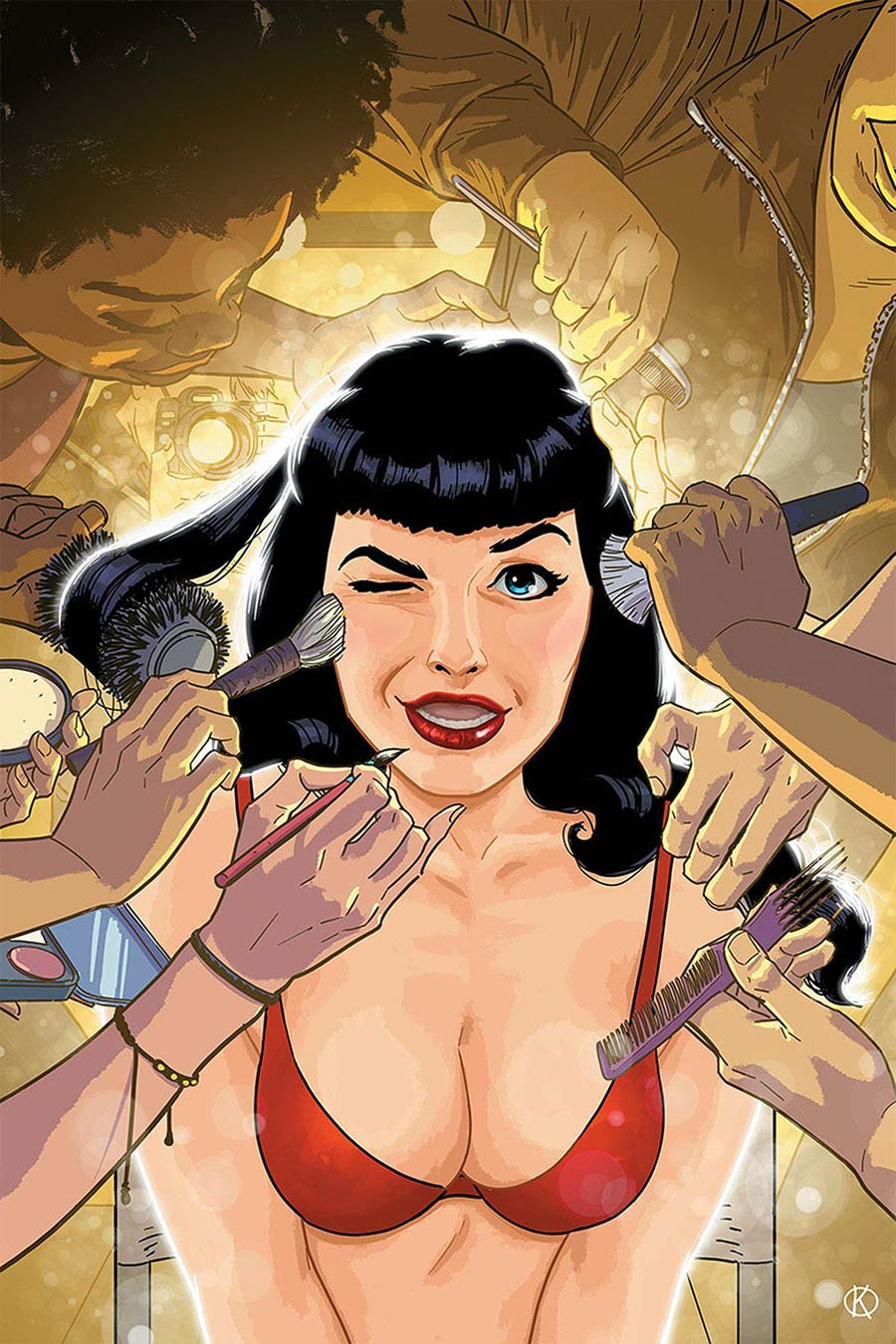 Bettie Page Vol 3 #5 Cover O Limited Edition Kano Virgin Cover
