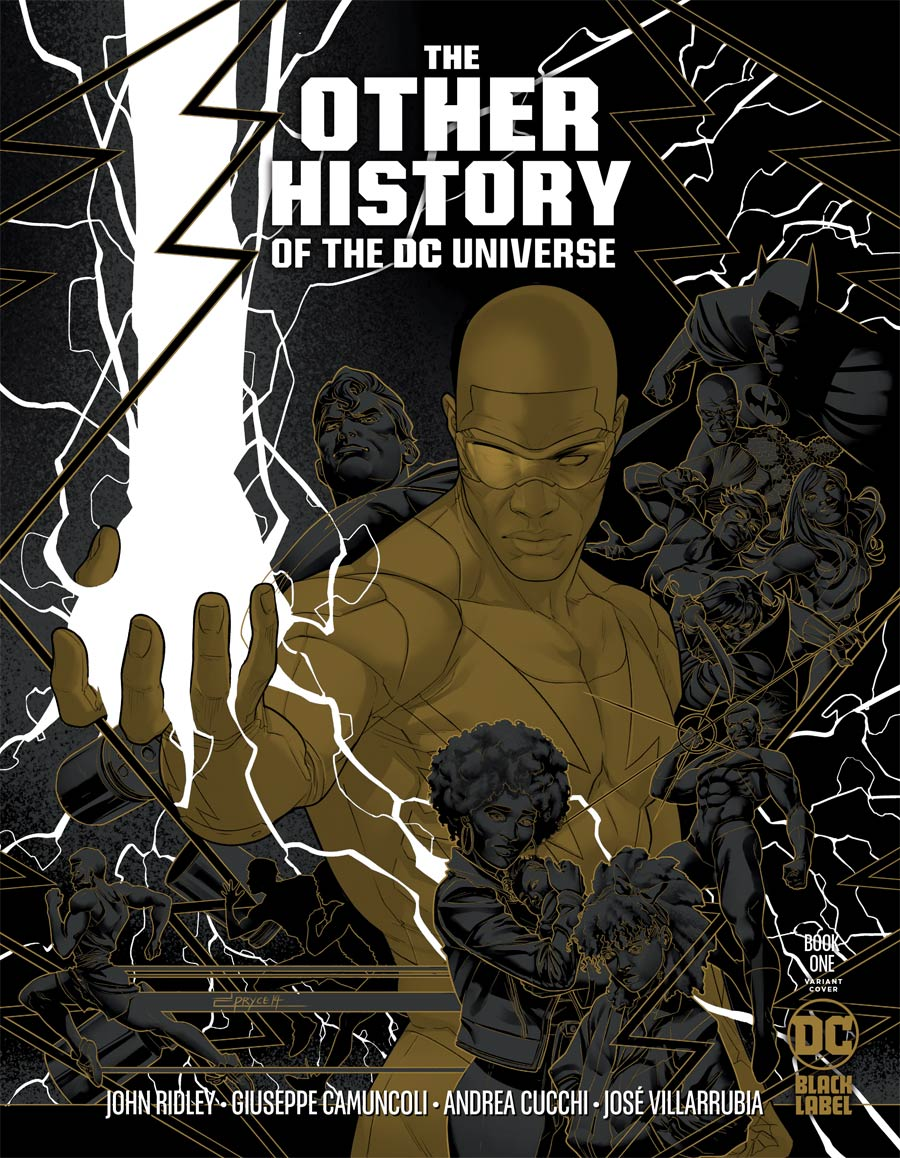 Other History Of The DC Universe #1 Cover C Incentive Jamal Campbell Gold Metallic Ink Cover