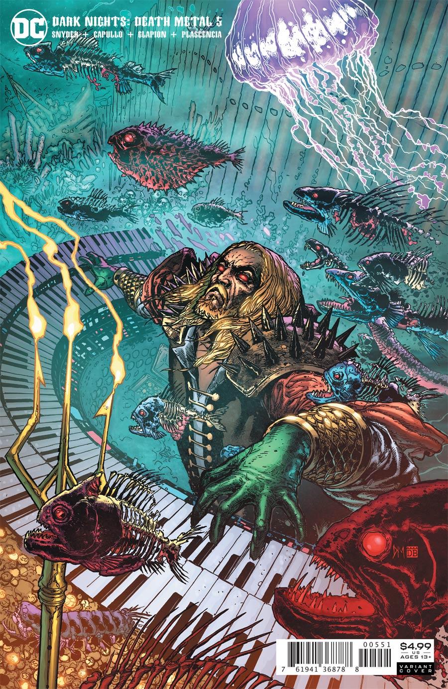 Dark Nights Death Metal #5 Cover E Incentive Doug Mahnke Variant Cover
