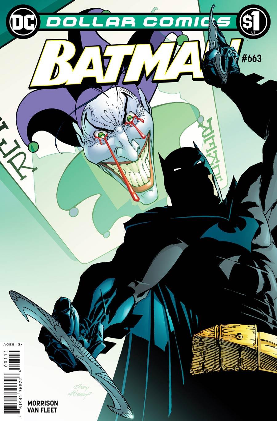 Dollar Comics Batman #663