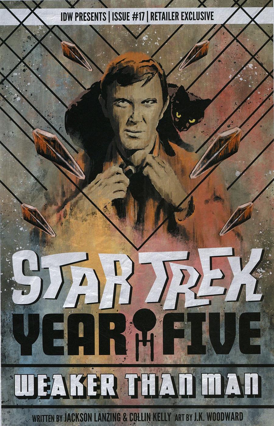 Star Trek Year Five #17 Cover B Incentive JJ Lendl Variant Cover