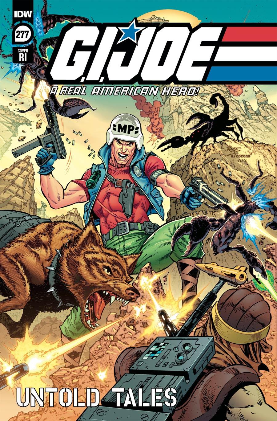 GI Joe A Real American Hero #277 Cover C Incentive John Royle Variant Cover