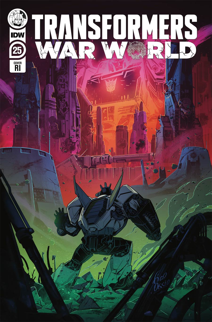 Transformers Vol 4 #25 Cover C Incentive Fico Ossio Variant Cover