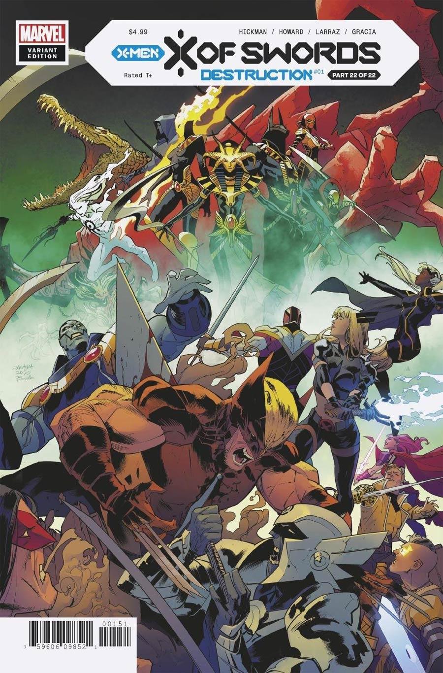 X Of Swords Destruction #1 Cover F Incentive Dan Mora Variant Cover (X Of Swords Part 22)