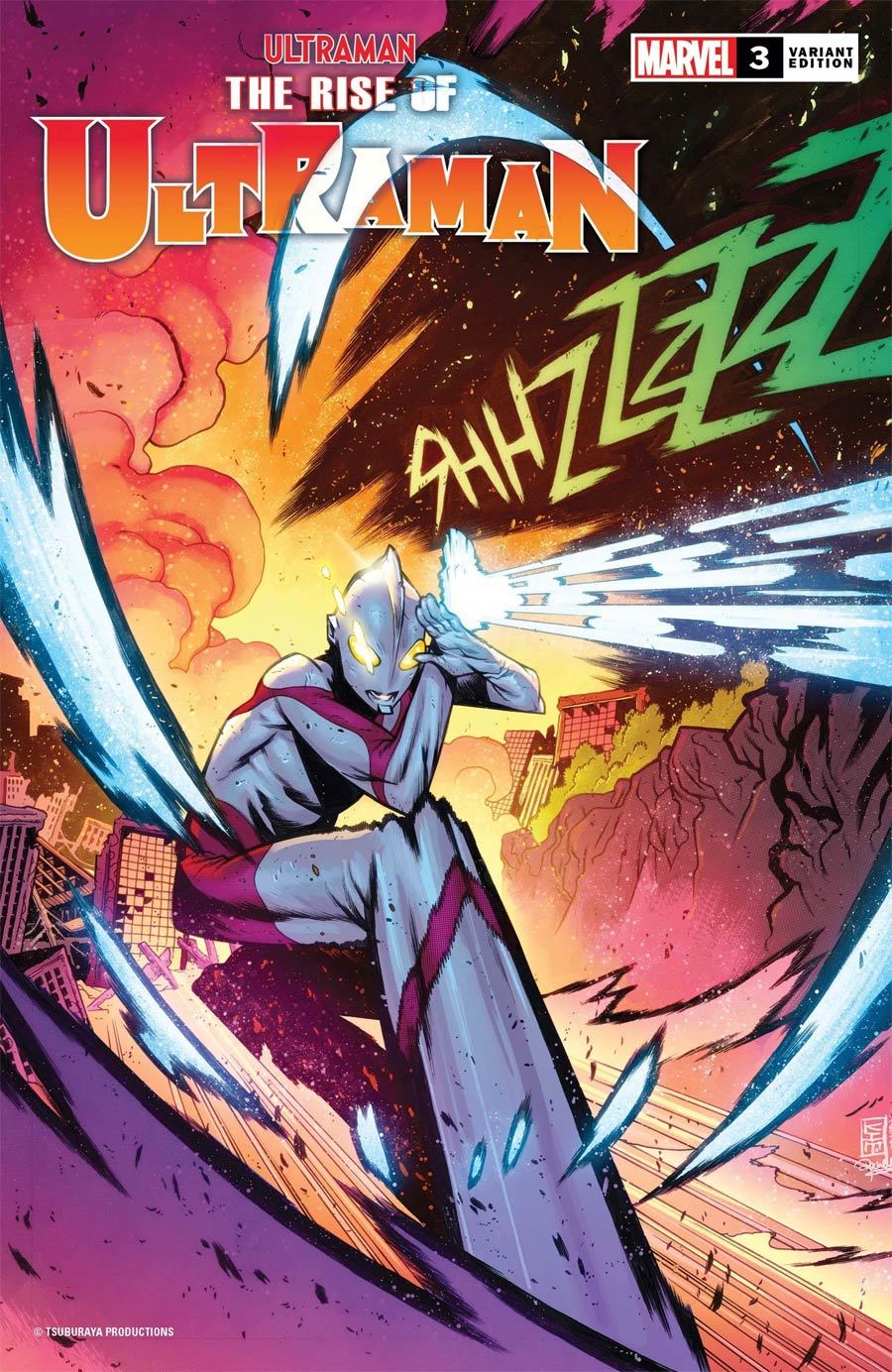 Ultraman Rise Of Ultraman #3 Cover C Incentive Kim Jacinto Variant Cover