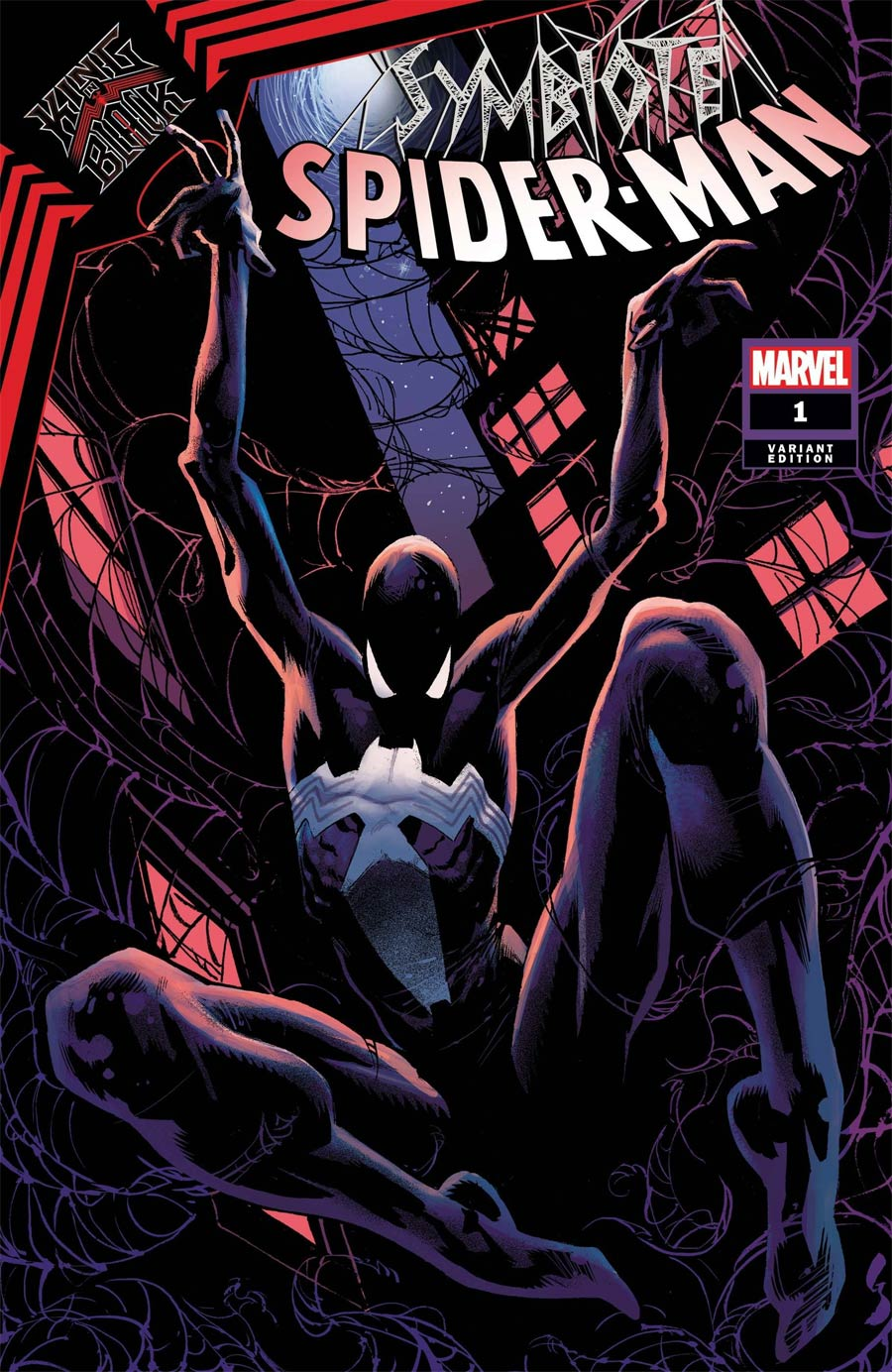 Symbiote Spider-Man King In Black #1 Cover E Incentive Geoff Shaw Variant Cover