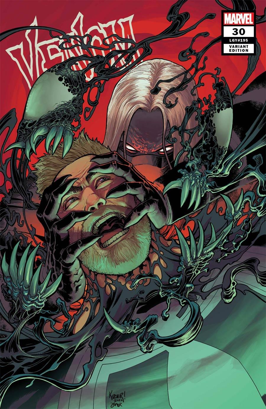 Venom Vol 4 #30 Cover C Incentive Aaron Kuder Variant Cover