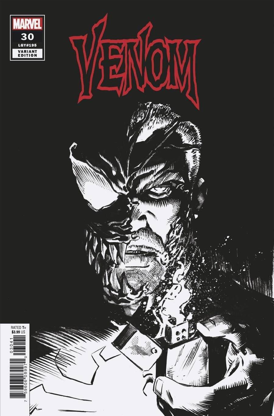 Venom Vol 4 #30 Cover D Incentive Ryan Stegman Sketch Cover