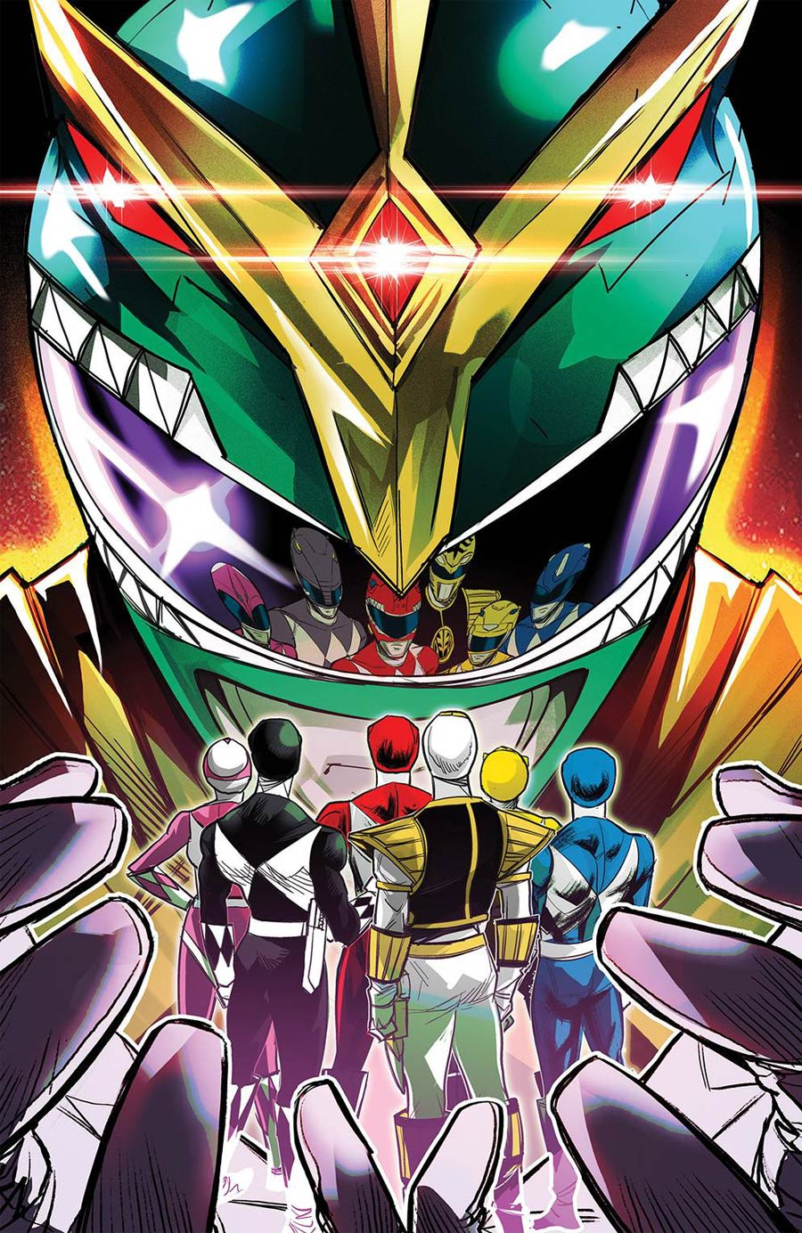 Mighty Morphin #1 Cover G Incentive Eleonora Carlini Variant Cover