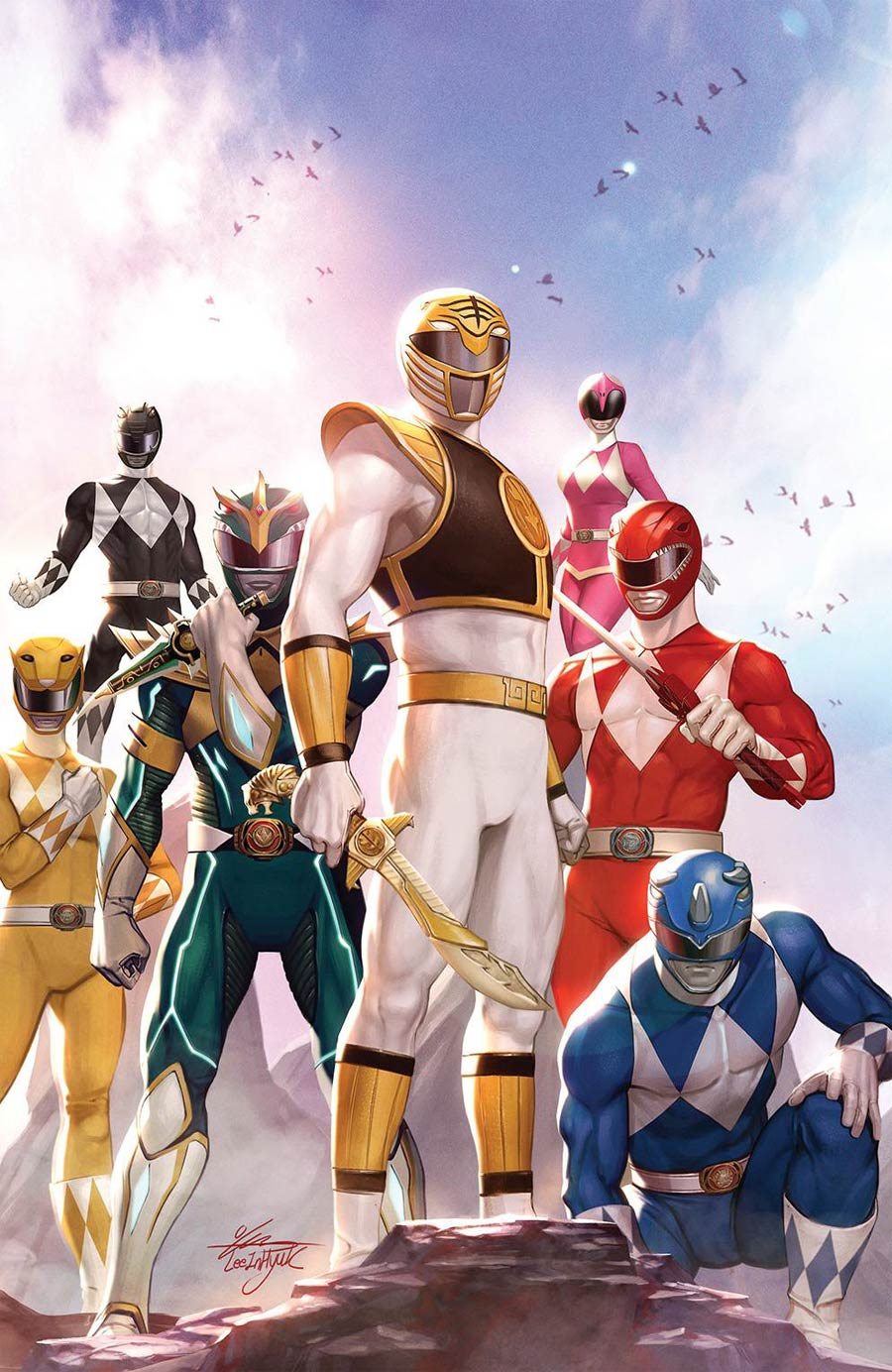 Mighty Morphin #1 Cover H Incentive InHyuk Lee Variant Cover