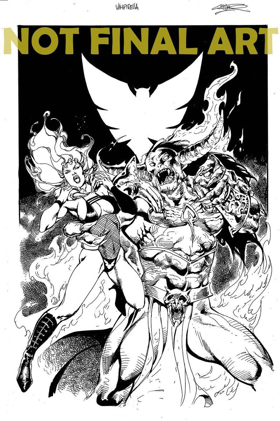 Vampirella Vol 8 #13 Cover G Variant Roberto Castro Cover