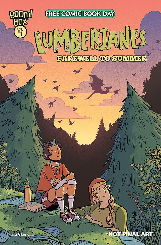 Lumberjanes Farewell To Summer #1 FCBD 2020