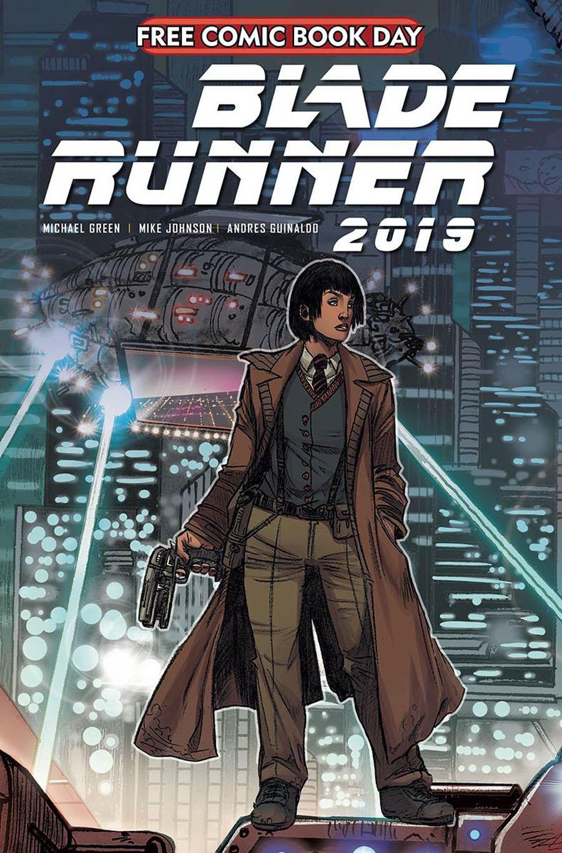 Blade Runner 2019 #1 Cover I FCBD 2020