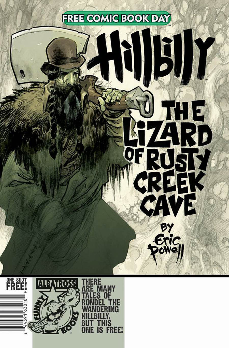 Hillbilly The Lizard Of Rusty Creek Cave FCBD 2020
