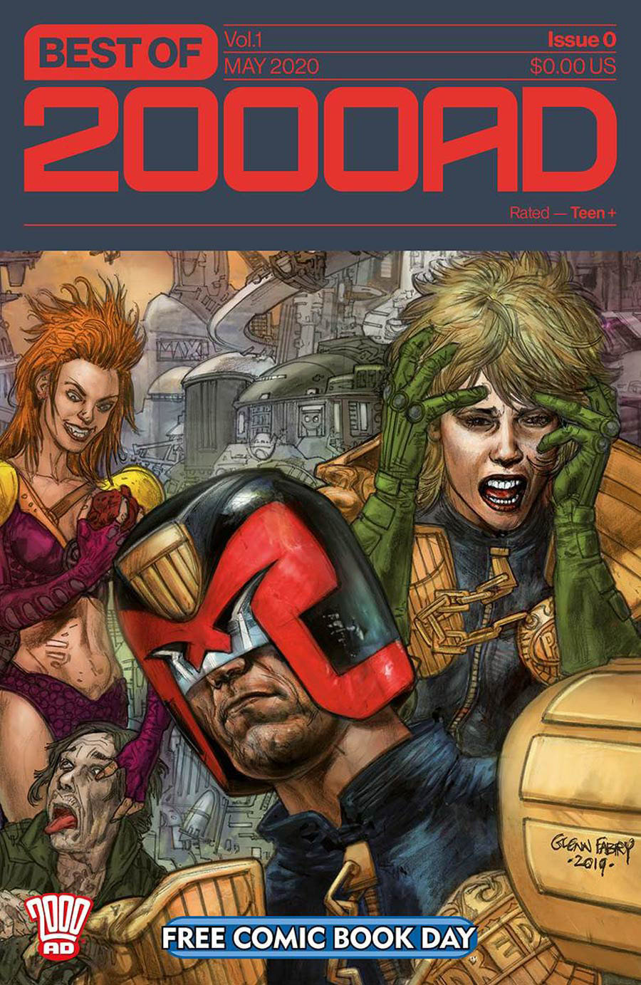 Best Of 2000 AD #0 FCBD 2020
