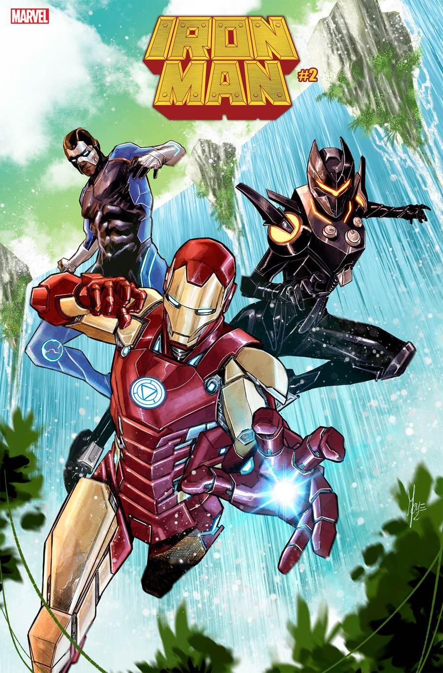 Iron Man Vol 6 #2 Cover C Variant Marco Checchetto Fortnite Cover