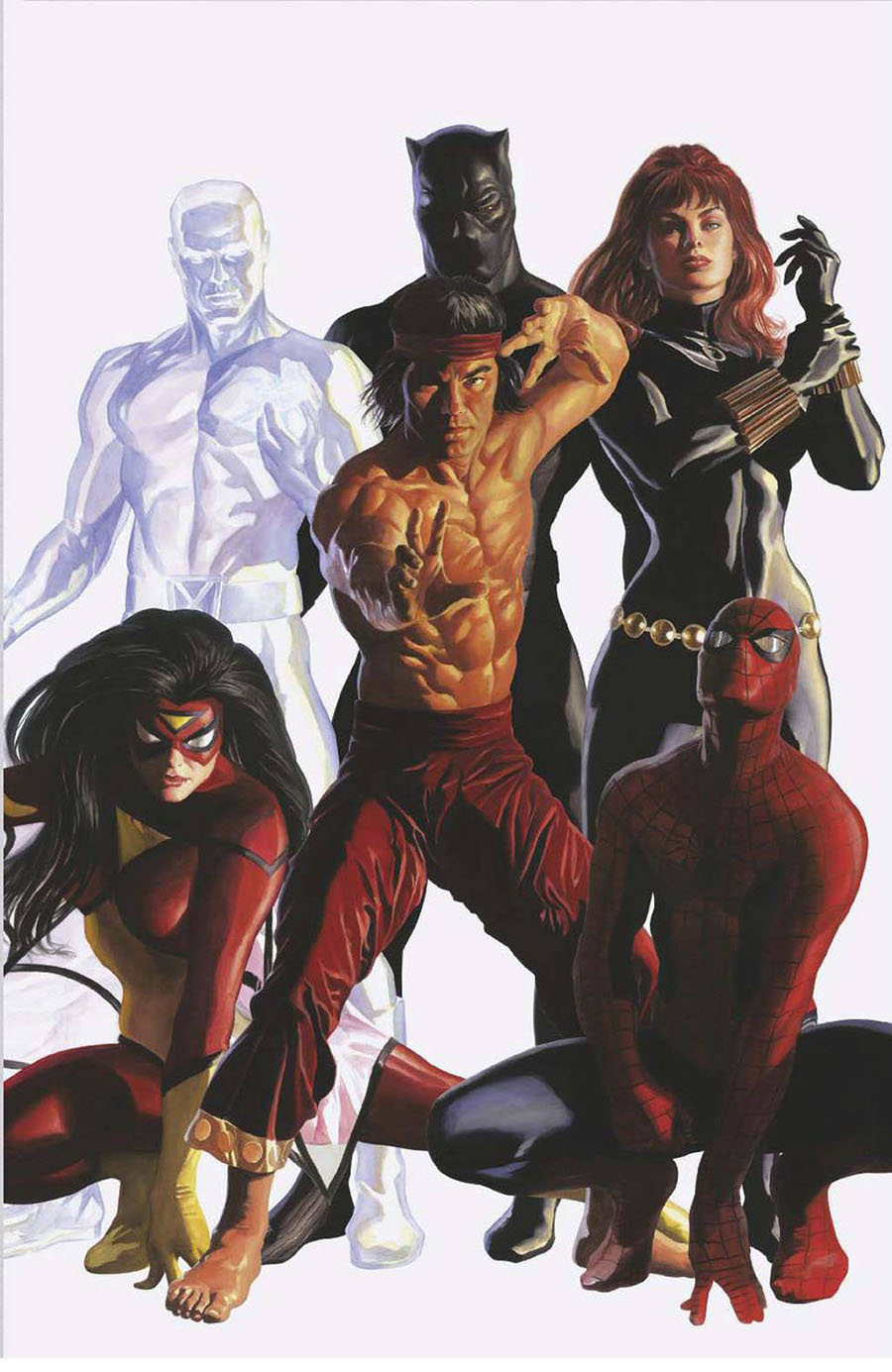 Empyre Aftermath Avengers One Shot Cover E Incentive Alex Ross Timeless Promo Variant Cover