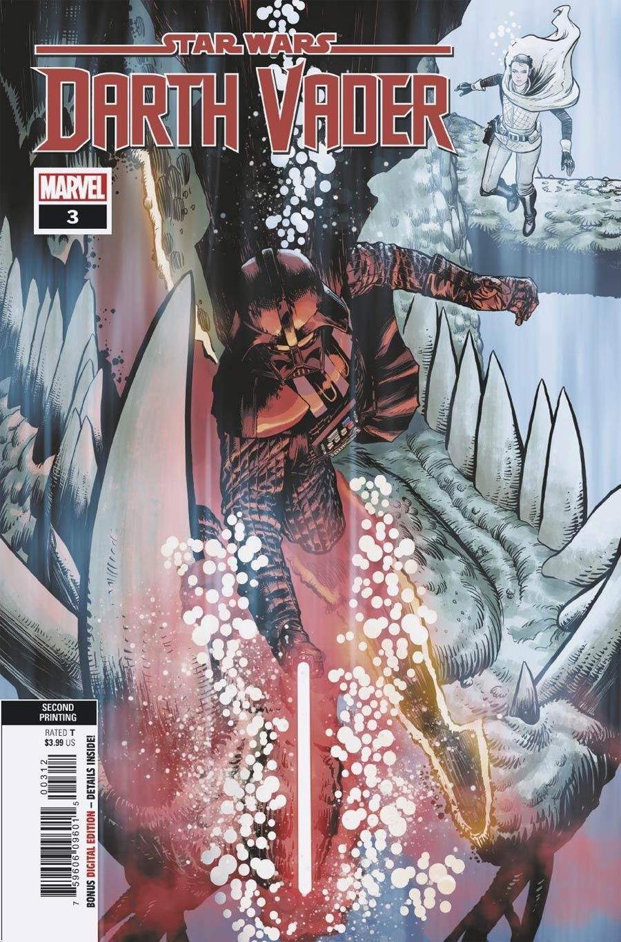 Star Wars Darth Vader #3 Cover D 2nd Ptg Variant Cover