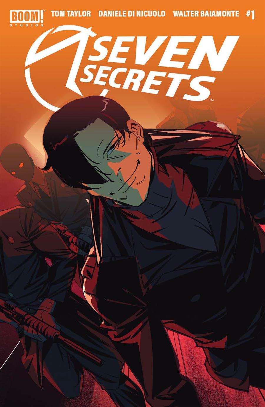 Seven Secrets #1 Cover I 3rd Ptg
