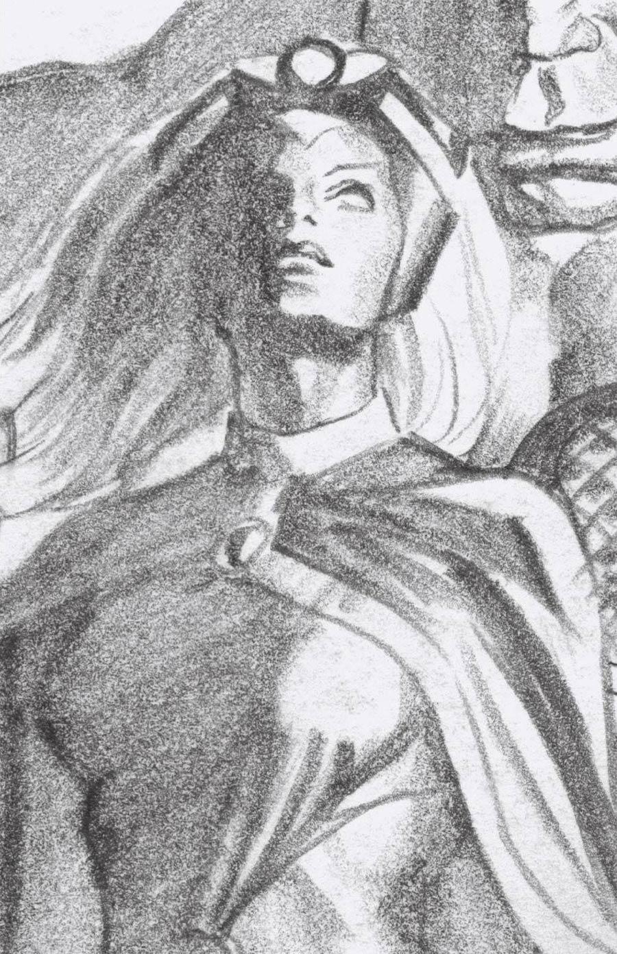 Giant-Size X-Men Storm #1 Cover D Incentive Alex Ross Timeless Storm Virgin Sketch Cover