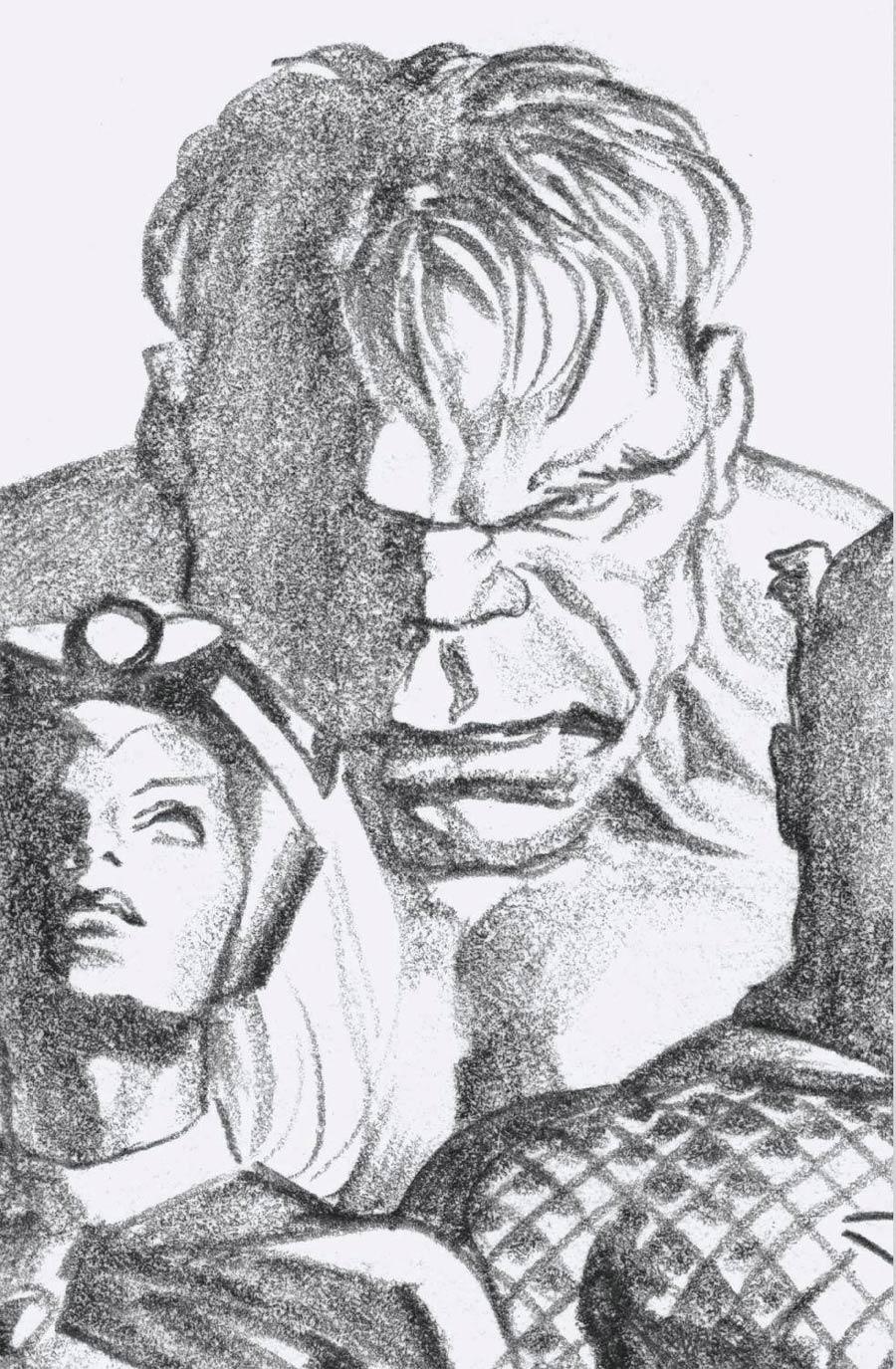 Immortal Hulk #37 Cover D Incentive Alex Ross Timeless Hulk Virgin Sketch Cover