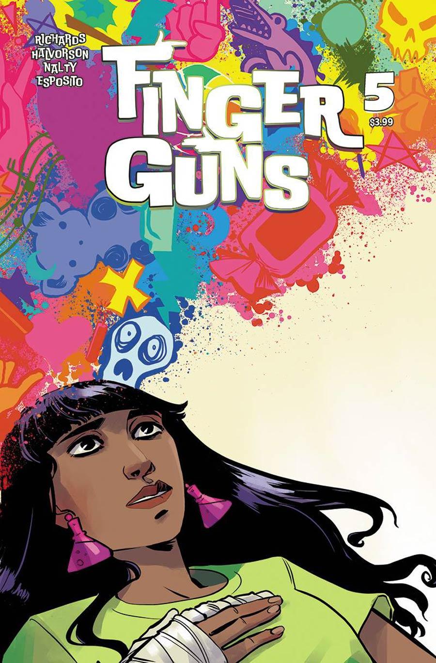Finger Guns #5 Cover B Variant Jen Hickman Cover
