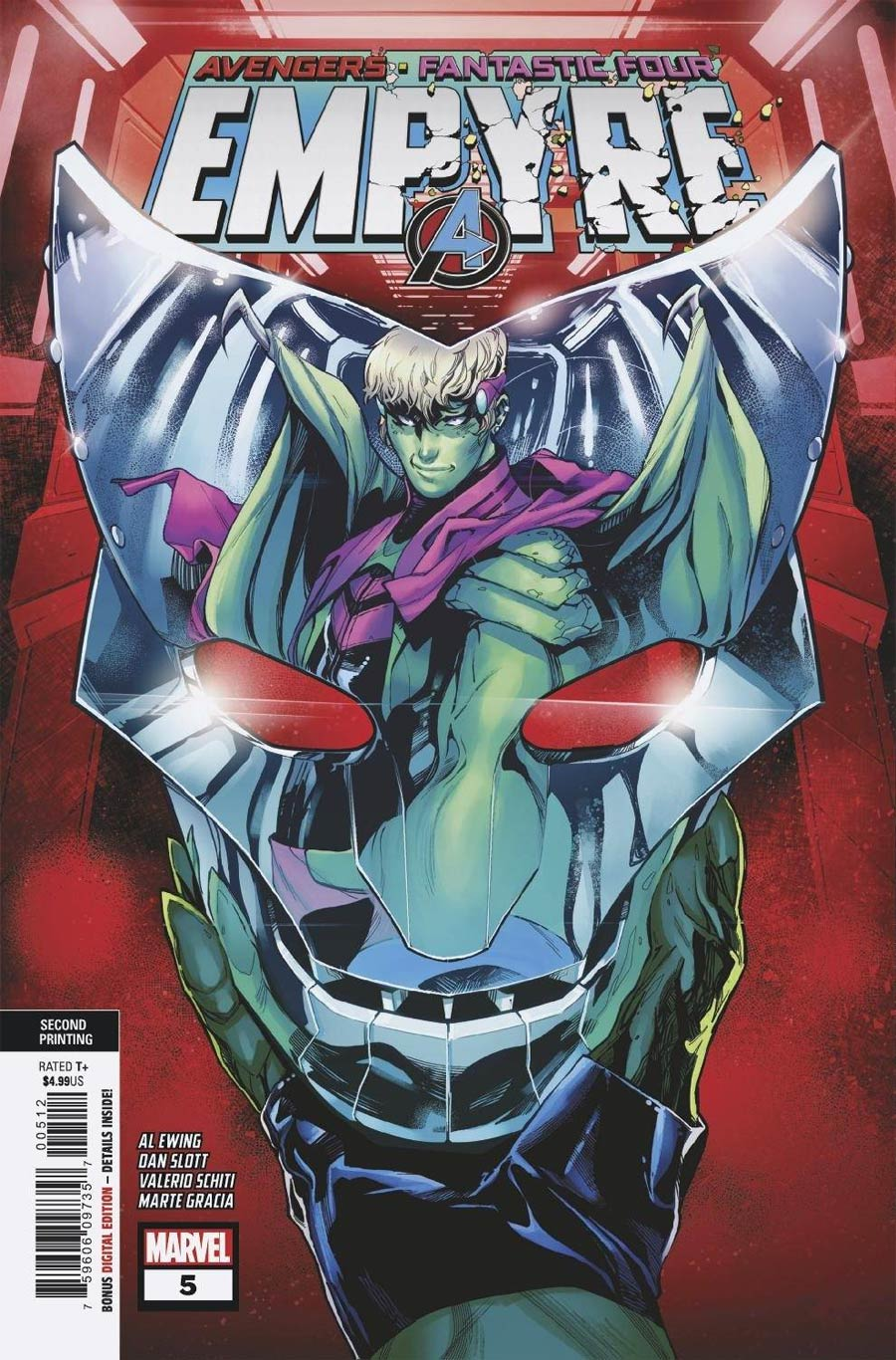 Empyre #5 Cover H 2nd Ptg Variant Cover